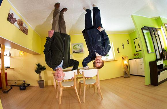 Verrücktestes haus der welt  Welt steht Kopf - Haus steht Kopf - Sehenswürdigkeit Insel Usedom